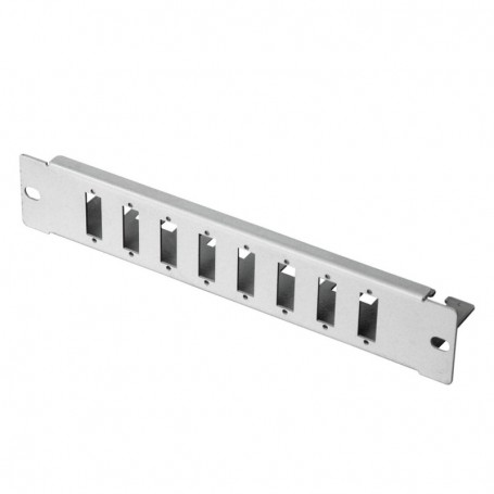 "Patch-Panel 8xSC DX 10"" niewyposażony RAL7035"