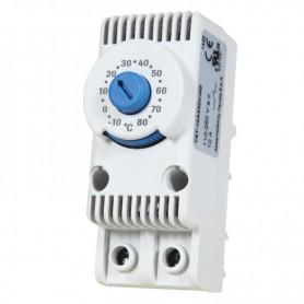 Termostat 10A/230VAC -10oC/+80oC