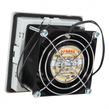 Wentylator z filtrem RAL7033