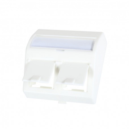 Adapter kątowy 2xRJ45 do gniazd IP66