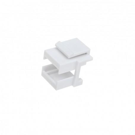 Insert zaslepka biała pod adapter SC/SX lub LC/DX