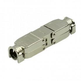 Łącznik kabla kat.6A, AWG 22-23, ekranowany, beznarzędziowy