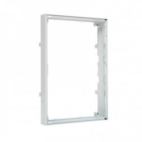 """Szafa 19"""" drzwi jednoskrzydłowe blacha/szkło tył osłona blacha SS BOX"""