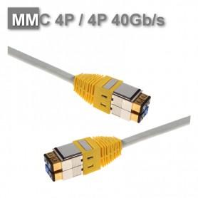 Patchcord 4P/4P S/FTP eranowany NL MMC 40Gb/s