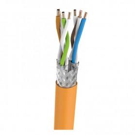 """Przepust kablowy 19"""" ze szczotką RAL7035"""