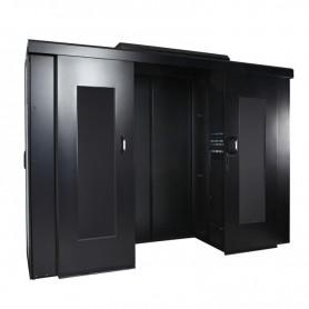 Mechaniczne drzwi do zabudowy BKT 4DC szer.1200 mm RAL 9005