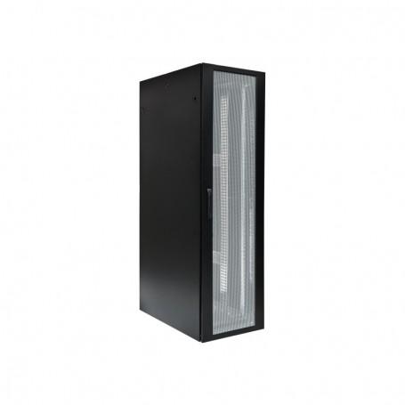 Szafa serwerowa BKT 4DC 42U 800X800 drzwi przód perforowane tył dwuskrzydłowe perforowane RAL9005