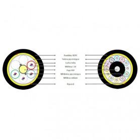 Światłowód A-DQ(ZN)B2Y (odpowiednik Z-XOTKtsdD) 4000N/2000N AH08