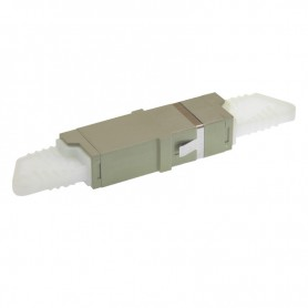 Adapter E2000C MM simplex szary BKT (z flanszą)