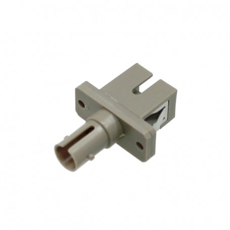 Adapter hybrydowy ST/SC MM simplex szary