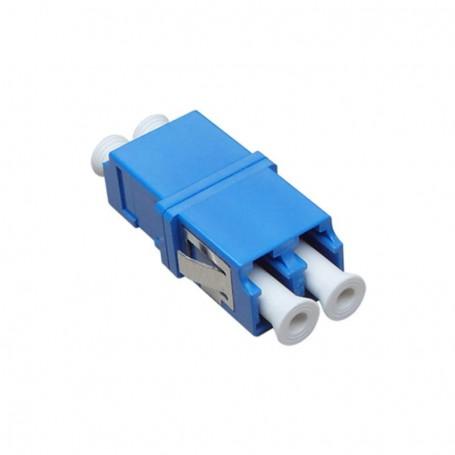 Adapter LC SM duplex niebieski (bez flanszy)