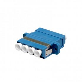 Adapter LC SM quad (z flanszą)