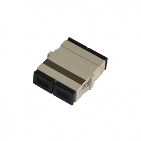 Adapter SC MM duplex szary (bez flanszy)