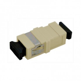 Adapter SC MM simplex szary (bez flanszy)