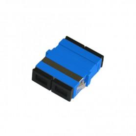 Adapter SC SM duplex niebieski (bez flanszy)