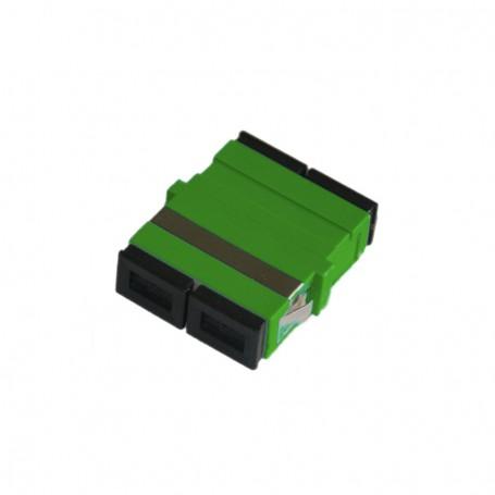 Adapter SC SM duplex zielony (bez flanszy)