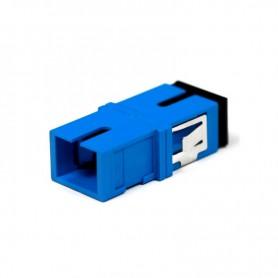Adapter SC SM simplex niebieski (bez flanszy)