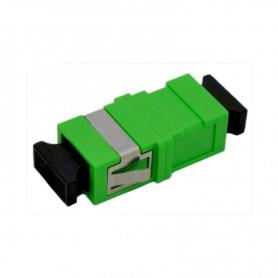 Adapter SC SM simplex zielony (bez flanszy)