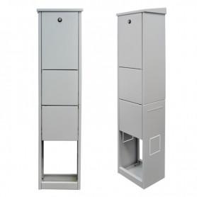 Zewnętrzna szafka dystrybucyjna 48xSC Simplex RAL7035 BKT AQCab