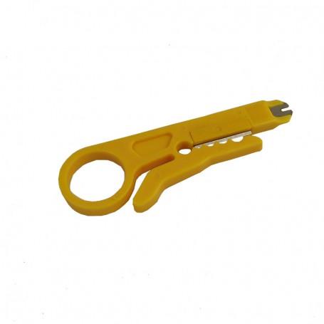 Ściągacz izolacji / nóż do tub światłowodowych