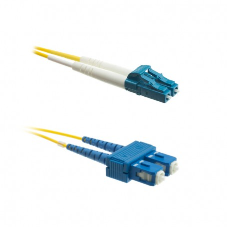 Patchcord LC/UPC-SC/UPC OS2 G652D 9/125μm DX