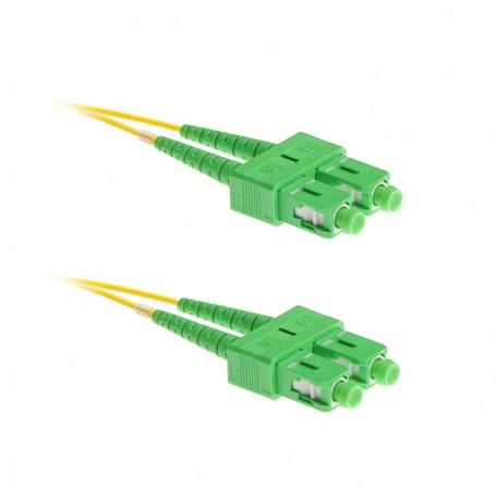Patchcord SC/APC-SC/APC SM G657A1 9/125μm DX