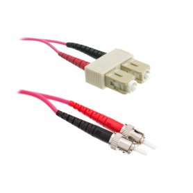 Patchcord SC/PC-ST/PC OM4 50/125μm DX
