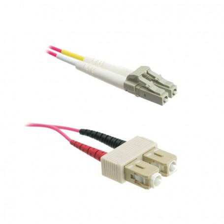 Patchcord LC/PC-SC/PC OM4 50/125μm DX