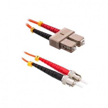 Patchcord SC/PC-ST/PC OM1 62,5/125μm DX