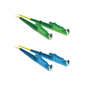Patchcord E2000/APC-E2000/UPC OS2 G652D 9/125μm DX 1m