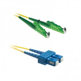 Patchcord E2000/APC-SC/UPC OS2 G652D 9/125μm DX 1m