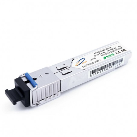 SFP SM 155Mb/s WDM SC simplex