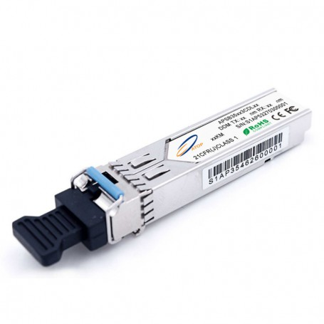 SFP SM 1.25Gb/s WDM LC simplex