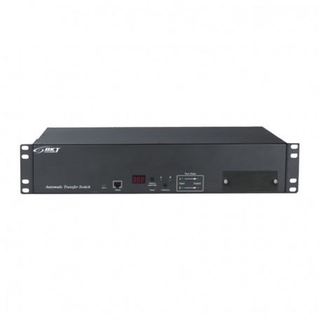 "ATS Basic BKT 2U 19"" 12xIEC320 C13 4xIEC320 C19 wtyk:2xIEC 60309 32A/250V (na kablu)"