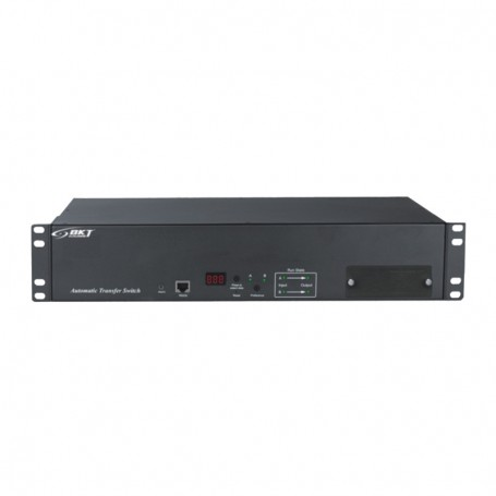"ATS Basic BKT 2U 19"" 16xIEC320 C13 2xIEC320 C19 wtyk:2xIEC 60309 32A/250V (na kablu)"