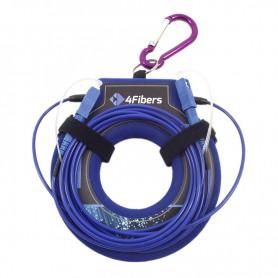 OTDR Launch Cable LC/APC-SC/APC SM G652.D 4Fibers
