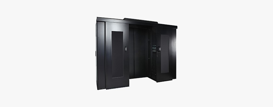 Modular construction for 4DC rack cabinets