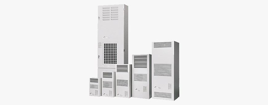 Accessories for IP54, IP55 cabinets - Air conditioners, Heaters, Thermostats, etc.
