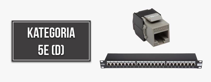 Category 5e (D) network equipment