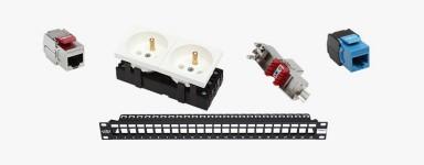 Structured Cabling Solutions - Moduły KeyStone, panele krosowe, system mozaikowy