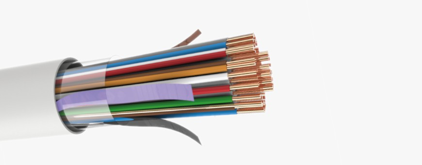 Copper Cables - Multipair twisted pair