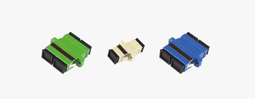 Fiber Optic Adapters - Singlemode, Multimode and Hybrid