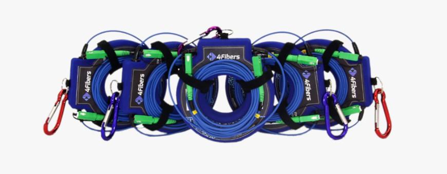 Rozbiegówki OTDR - kable rozbiegowe 4Fibers, launch cables