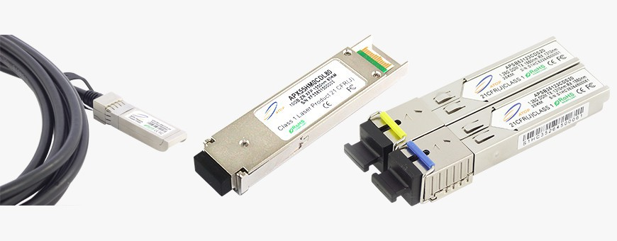 Optical Modules SFP, SFP+, XFP, QSFP+, DAC, AOC