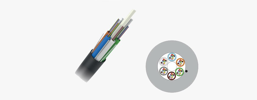 Fiber optic cables for microducts