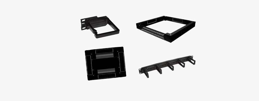 """Accessories for 4DC 19 """"cabinets - Modular structures, additional equipment"""
